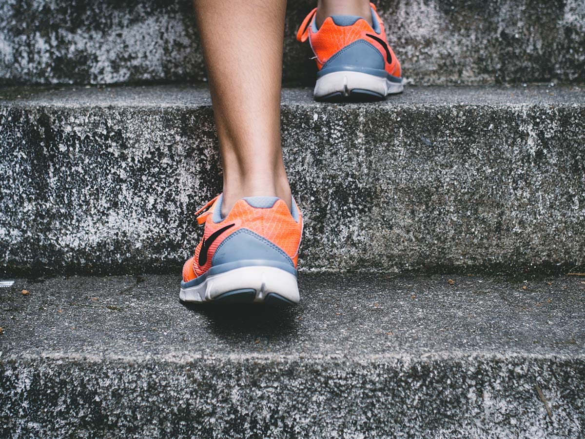 Praticando exercícios e mantendo a mente saudável