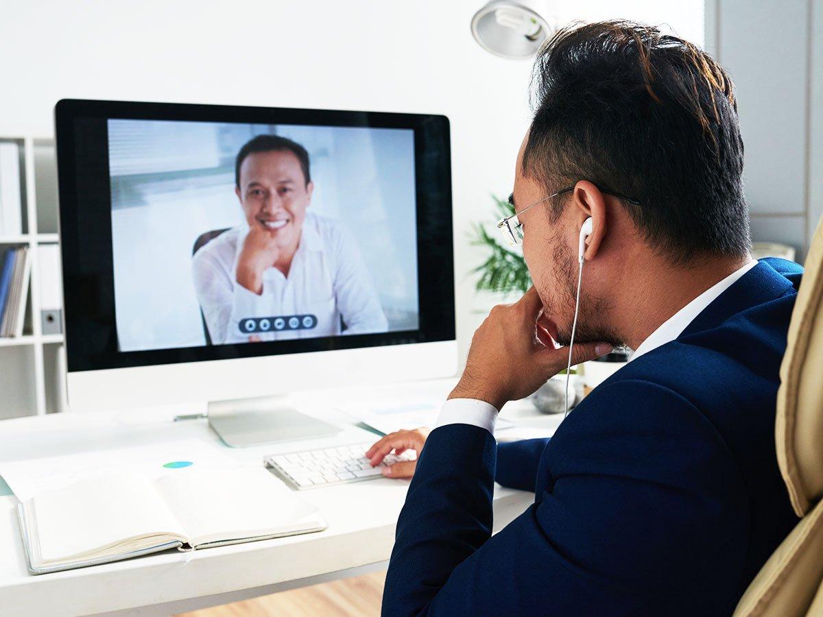 Como se portar em reuniões não presenciais