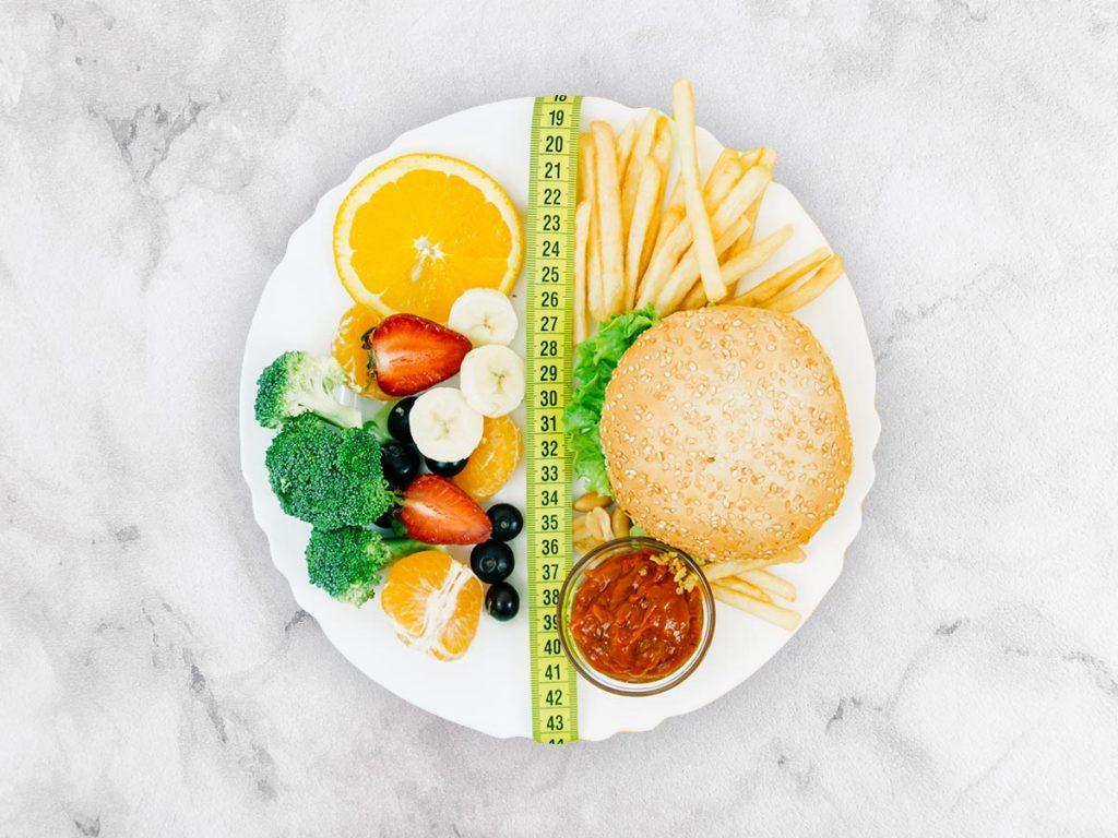 O equilíbrio na boa alimentação