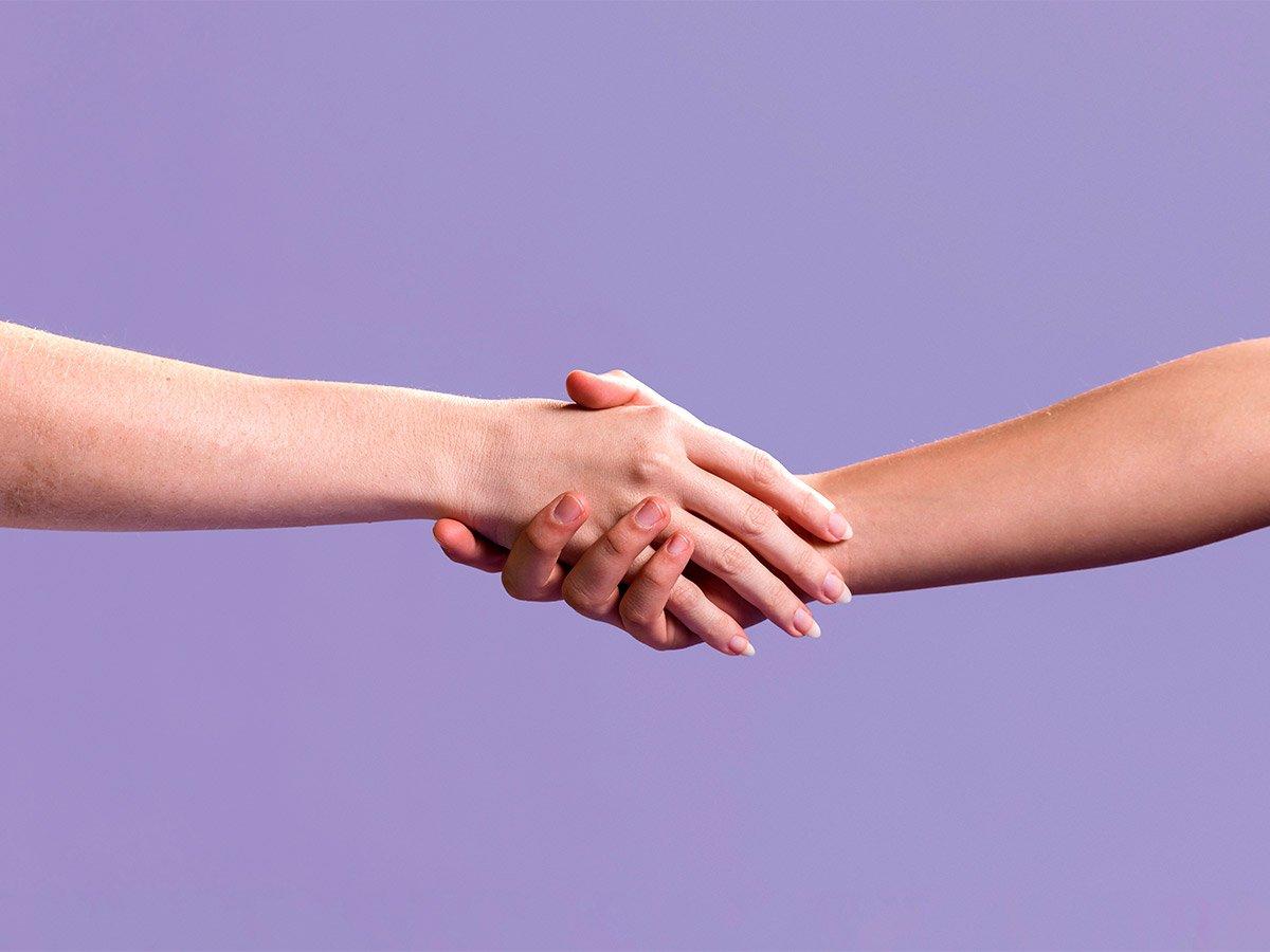 Vamos falar sobre as mãos?