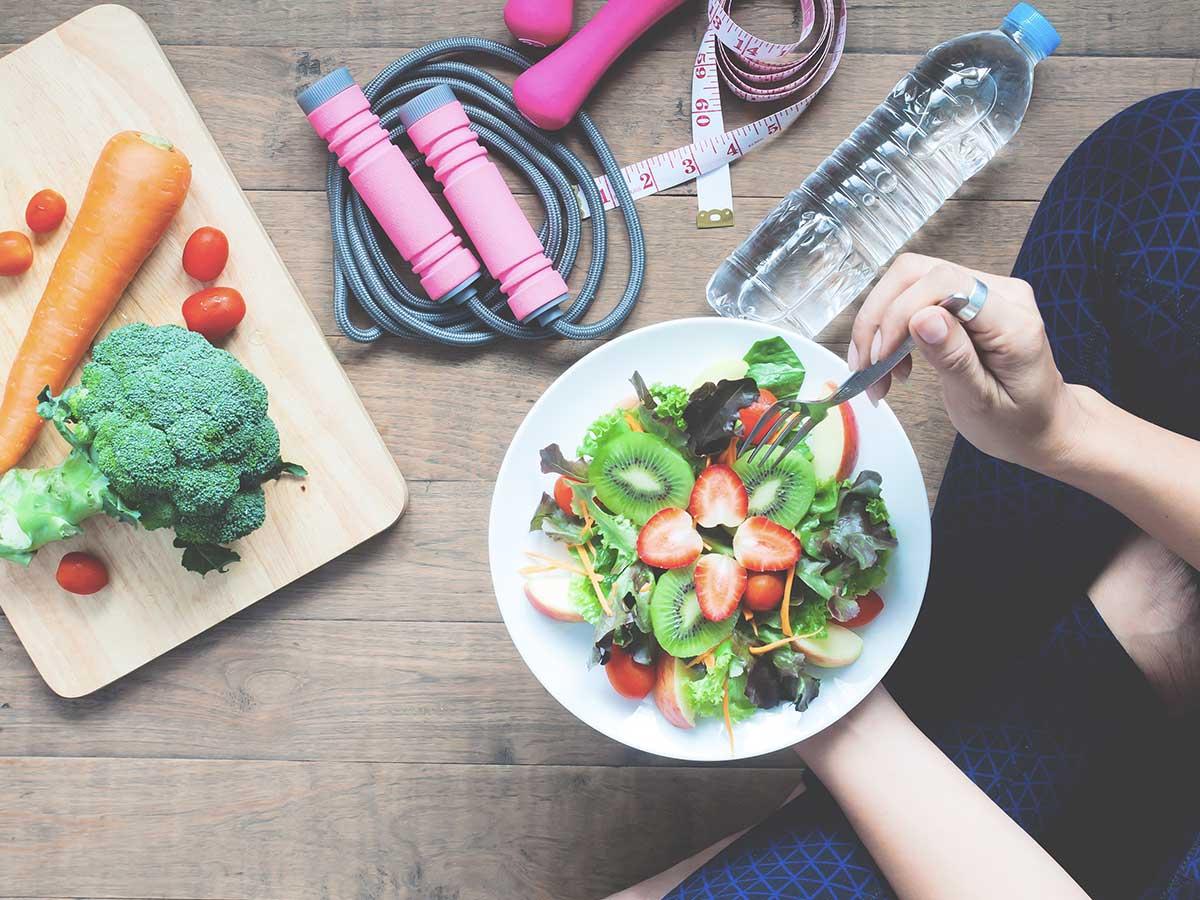 Você segue uma mentalidade de dieta?